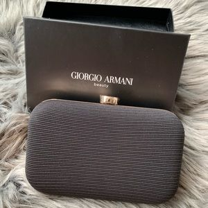 Giorgio Armani Hard Body Clutch